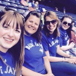 International Delegates in Zone 3 at Blue Jays game