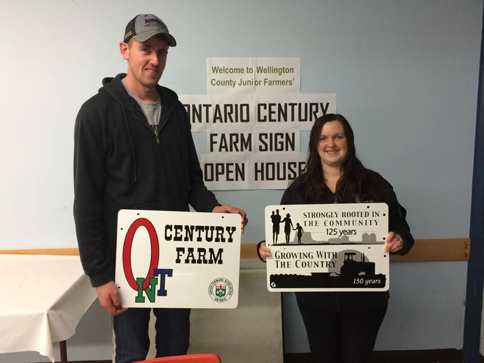 Century Farm Sign Open House