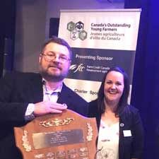 Phillip and Katie Keddy - OYFF 2020 Outstanding Young Farmers