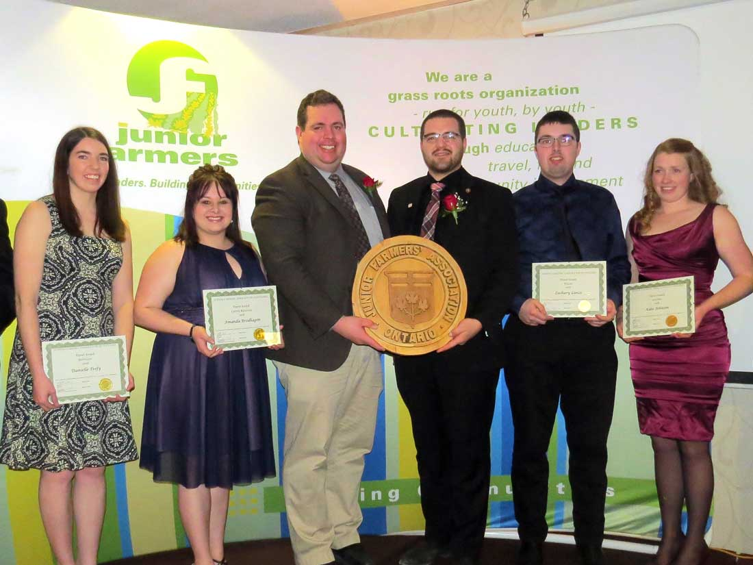 The Junior Farmers Association of Ontario (JFAO) offers 10 outgoing exchanges to members every year